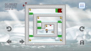 CatSpin Snow Level